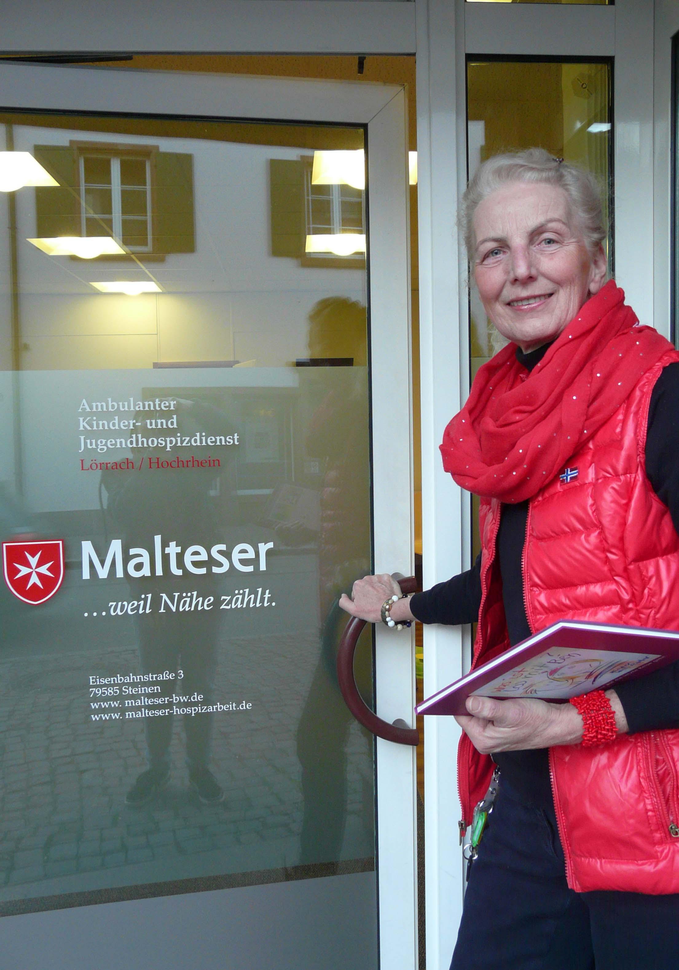 Der Hospizdienst der Malteser ist in Steinen in der Eisenbahnstraße