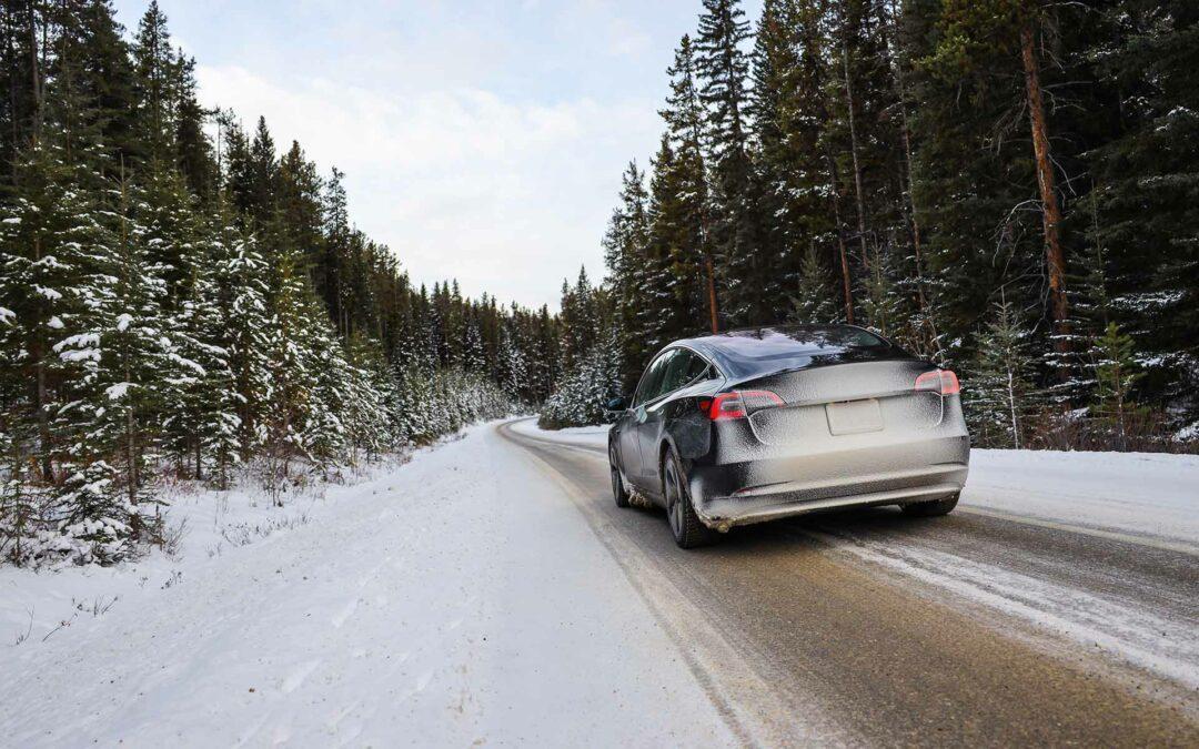 Mit dem Elektroauto im Winter unterwegs