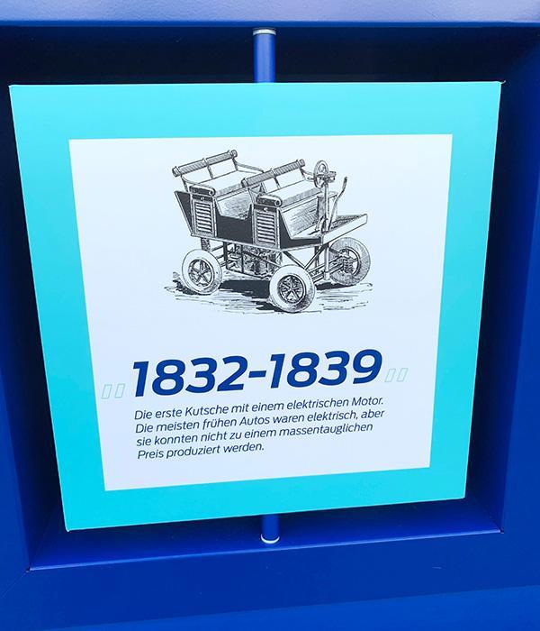 Den Elektromoto gab es bereits im 19. Jahrhundert.