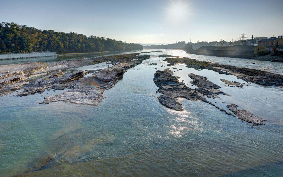 Klimawandel: Im Hochrhein fließt immer weniger Wasser