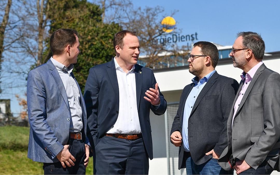 Jörg Reichert gestaltet mit den Kommunalberteuern die Energiewende in den Kommunen.
