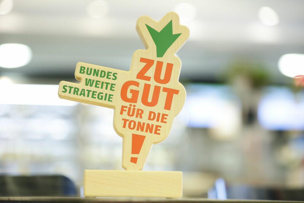 Logo der Initiative Zu gut für die Tonne! des Bundesministerium für Ernährung und Landwirtschaft