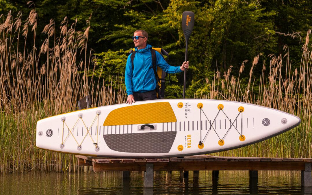 What's (S)UP? Stand-up-Paddling am Hochrhein
