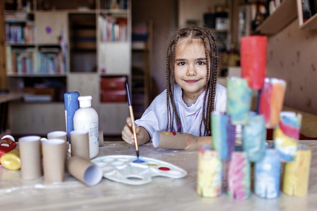 Upcycling als Teil einer nachhaltigen Erziehung
