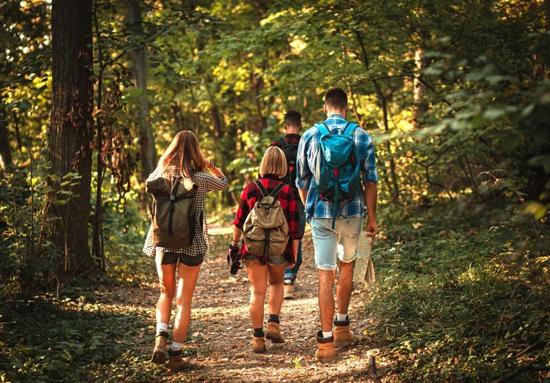 Wandern als nachhaltige Freizeitbeschäftigung im Urlaub