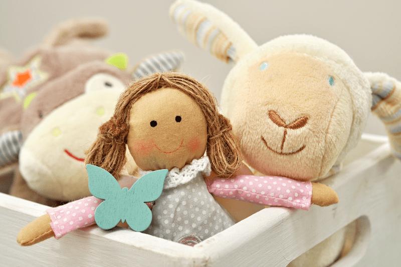 Ökologisches Spielzeug aus natürlichen Materialien