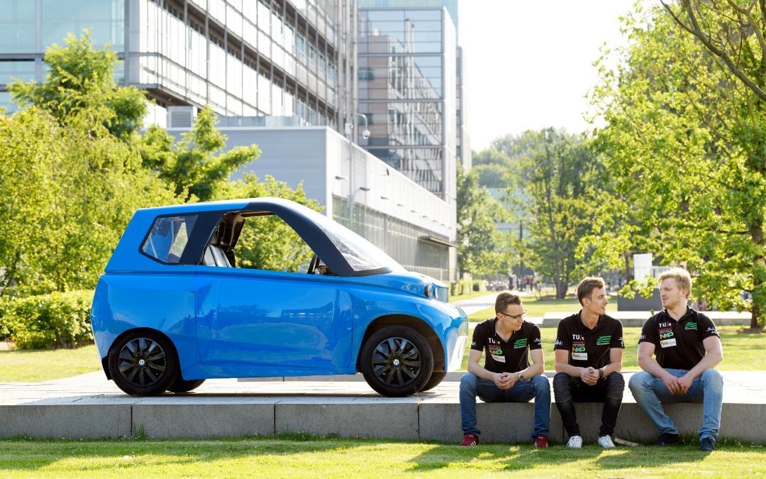 Noahs Arche ist das erste komplett recycelbare Auto der Welt