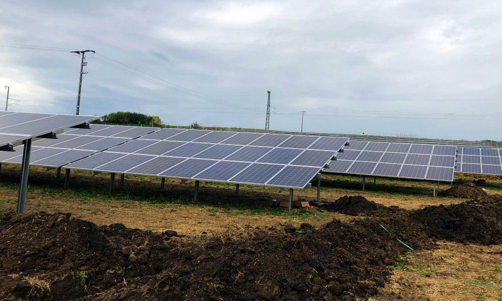 Energiedienst baut in Döggingen eine PV-Freiflächenanlage mit 750 kW.
