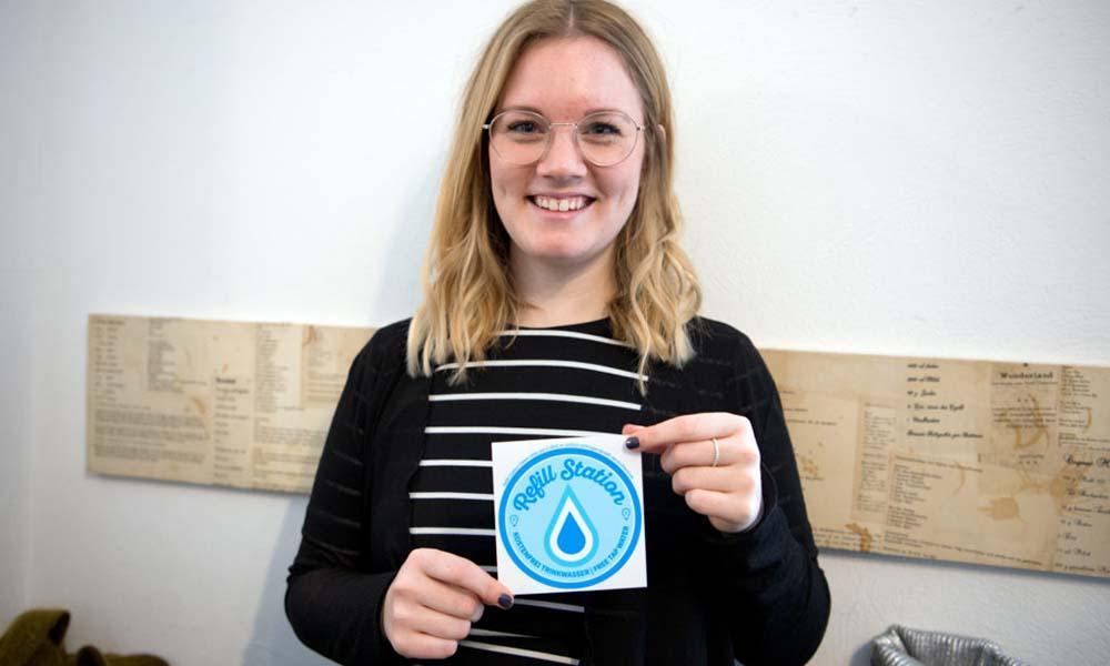 Refill Deutschland Inititive: Leitungswasser in Flaschen abfüllen