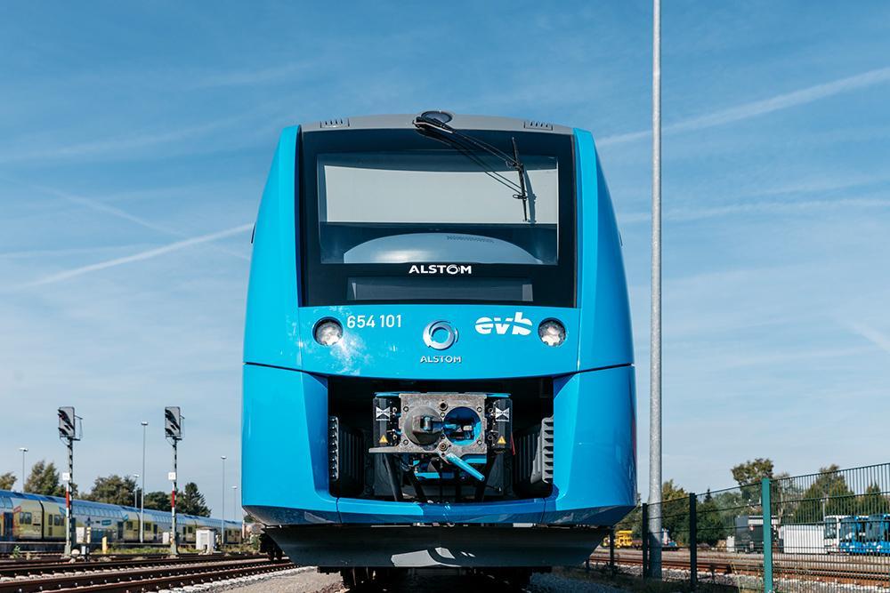 Brennstoffzellen-Zug der Firma Alstom