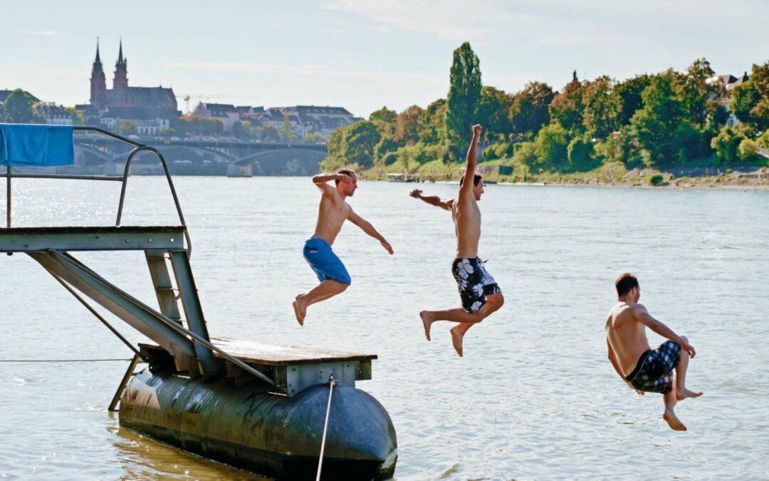 Schwimmen im Rhein: So gehst Du auf Nummer sicher