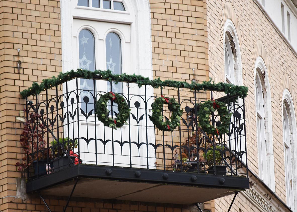Weihnachtsdeko in Ysat Schweden