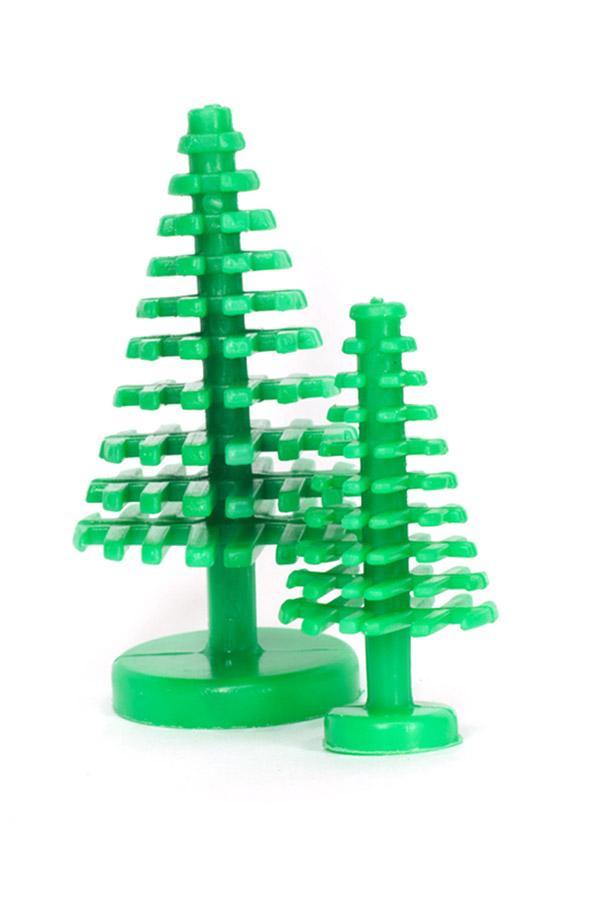 Weihnachtsbäume aus Plastik