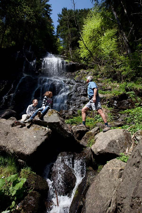 Der Zweribachfall ist ein Ausflugstipp im Schwarzwald