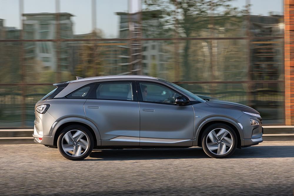Brennstoffzellen-Auto Nexo von Hyundai