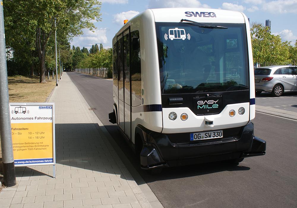 In Lahr steht die Tür zur autonomen Mobilität einen Spalt offen
