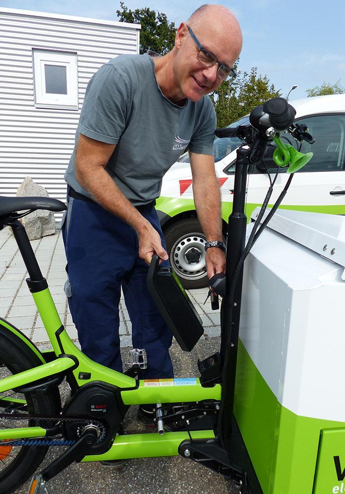 Akku für Elektro-Lastenrad