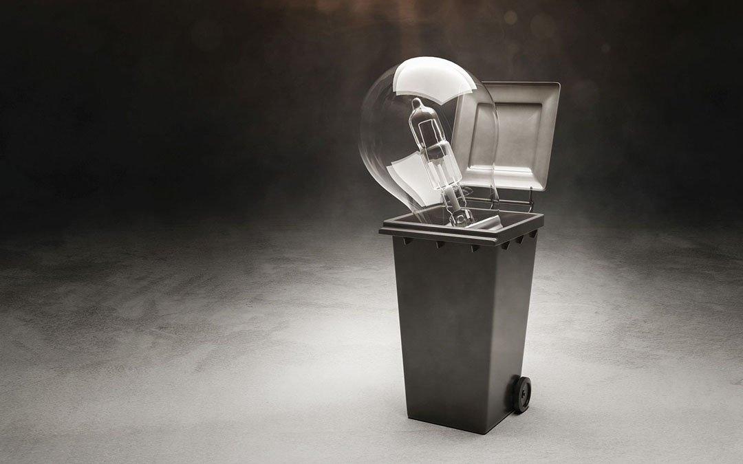 Für viele Halogenlampen geht das Licht aus