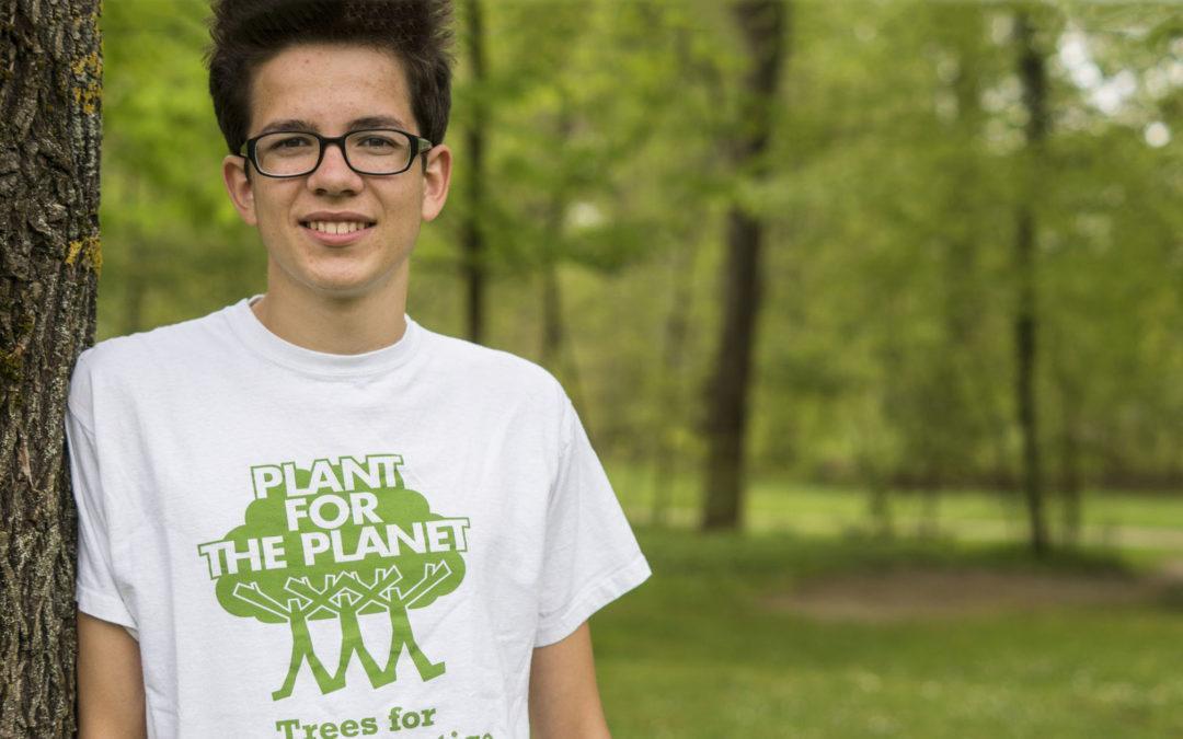 Felix Finkbeiner: Botschafter für eine Billion Bäume