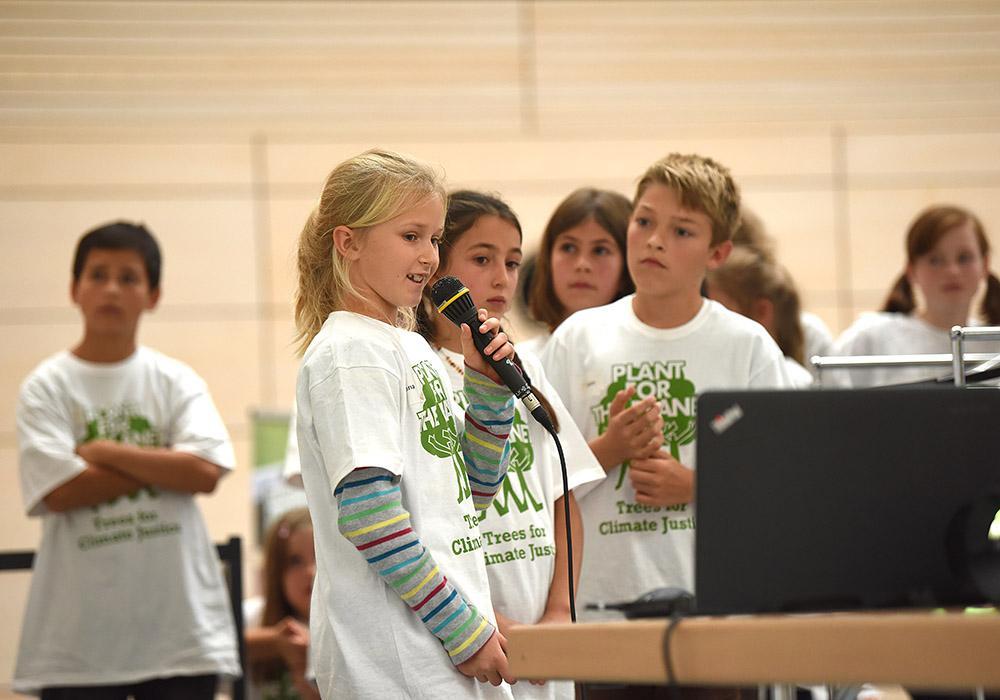Kinder werden Klimabotschafter