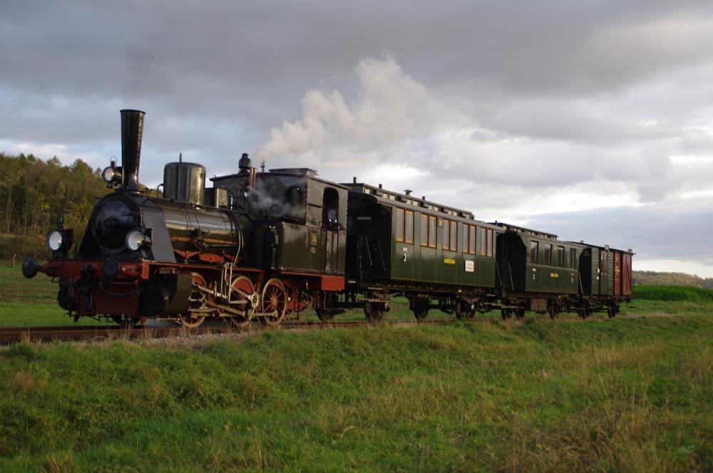 Historische Dampflok, Kandertalbahn