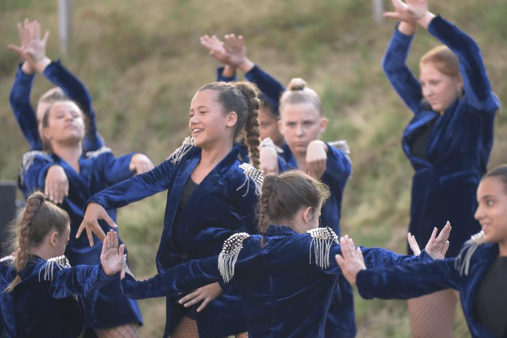 Tanzgruppe Dance Academy bei der Nacht der Ausbildung