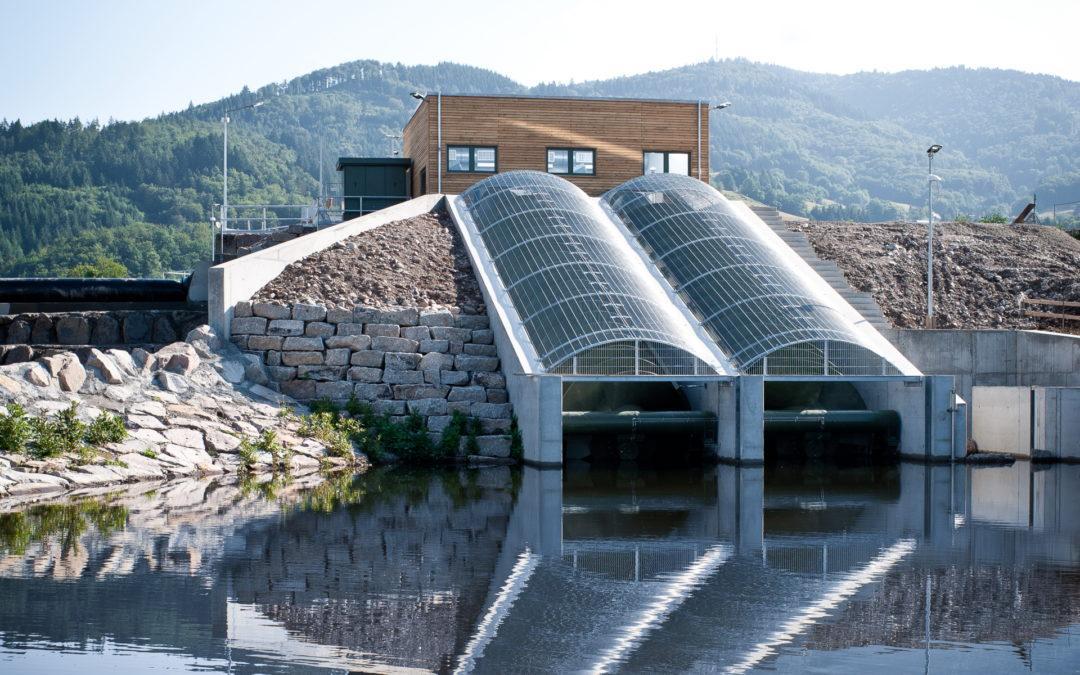 Wasserkraftschnecke Hausen